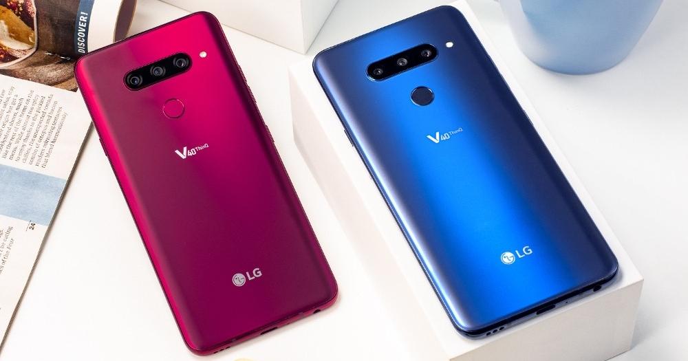 LG 默默地推出三鏡頭新機 LG V40 ThinQ,超廣角、標準、長焦鏡一次納入
