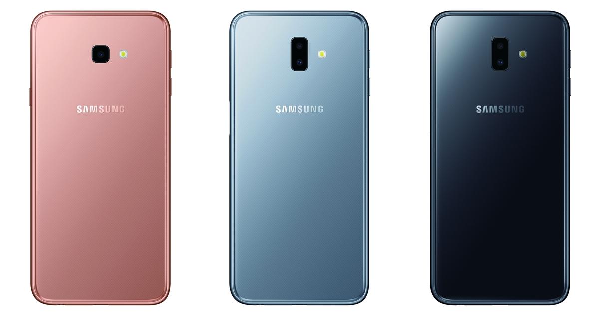 三星入門新機 Galaxy J4+ / J6+ 十月中下旬上市,售價 5,990 元