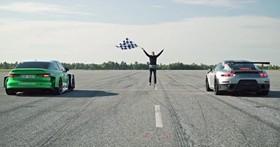 【影片】道路版 Formula E 無誤!「電動版」Audi RS3 直線加速蛙、牛都不是對手