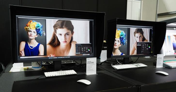 2018 台北攝影器材展:Eizo 展出百萬元高階螢幕 CG3145 及 ColorEdge、FlexScan 等系列多款新品