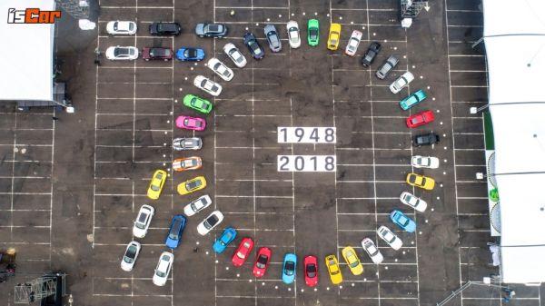 會心一笑的勝利方程式,Porsche 70周年慶典 SPORTSCAR TOGETHER DAY