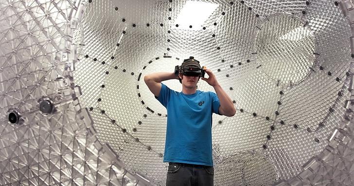 自由轉向無限制行走的VR 遊戲「人類球」,10年前不被看好現在在社群網站上又熱門了起來