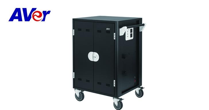 圓展推出平板與筆記型電腦「充電車」,可同時充電36台平板、筆電或 Chromebook
