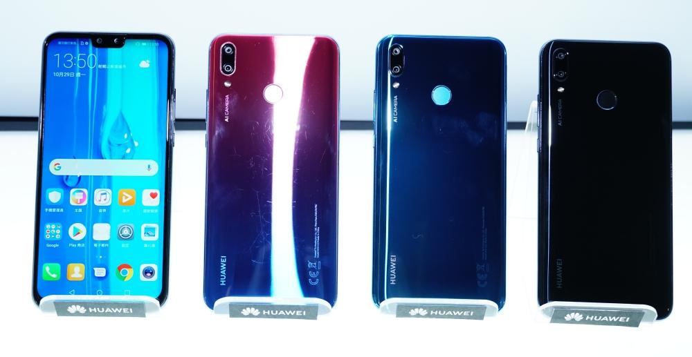 除了 Mate 20,華為還帶來 Y9 2019 手機、MediaPad M5 Lite / Media Pad T5 平板