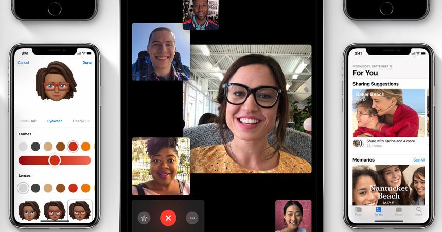 iOS 12.1正式上線倒數!將迎來FaceTime群聊功能、根除XS系列自拍「美顏門」事件