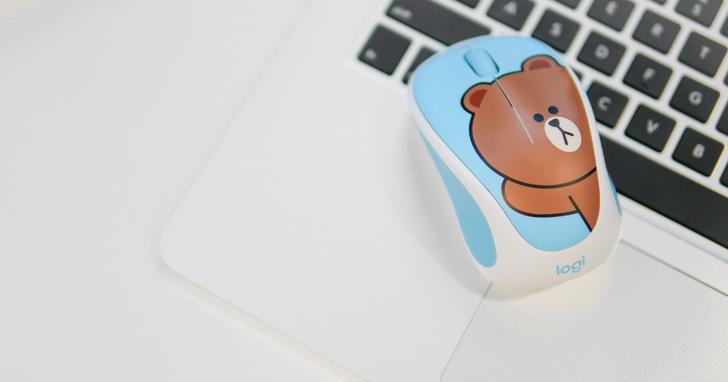 熊大、兔兔賣萌變身!羅技攜手LINE FRIENDS推聯名滑鼠