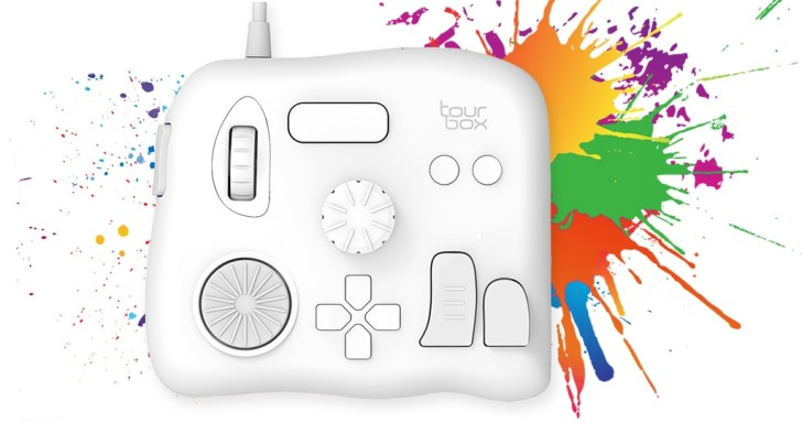 TourBox控制器不玩遊戲,是專業修圖軟體的好幫手