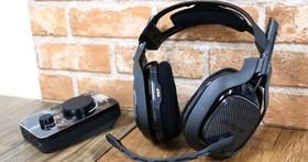 跨平台競技遊戲潮人利器,羅技 ASTRO A40 電競耳麥+音頻擴大器 開箱體驗
