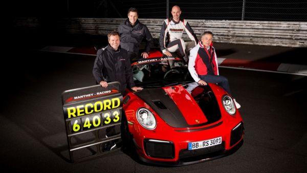 保安,哪有人這樣的?Porsche 911 GT2 RS MR以「6分40秒3」寫下紐北最速成績!