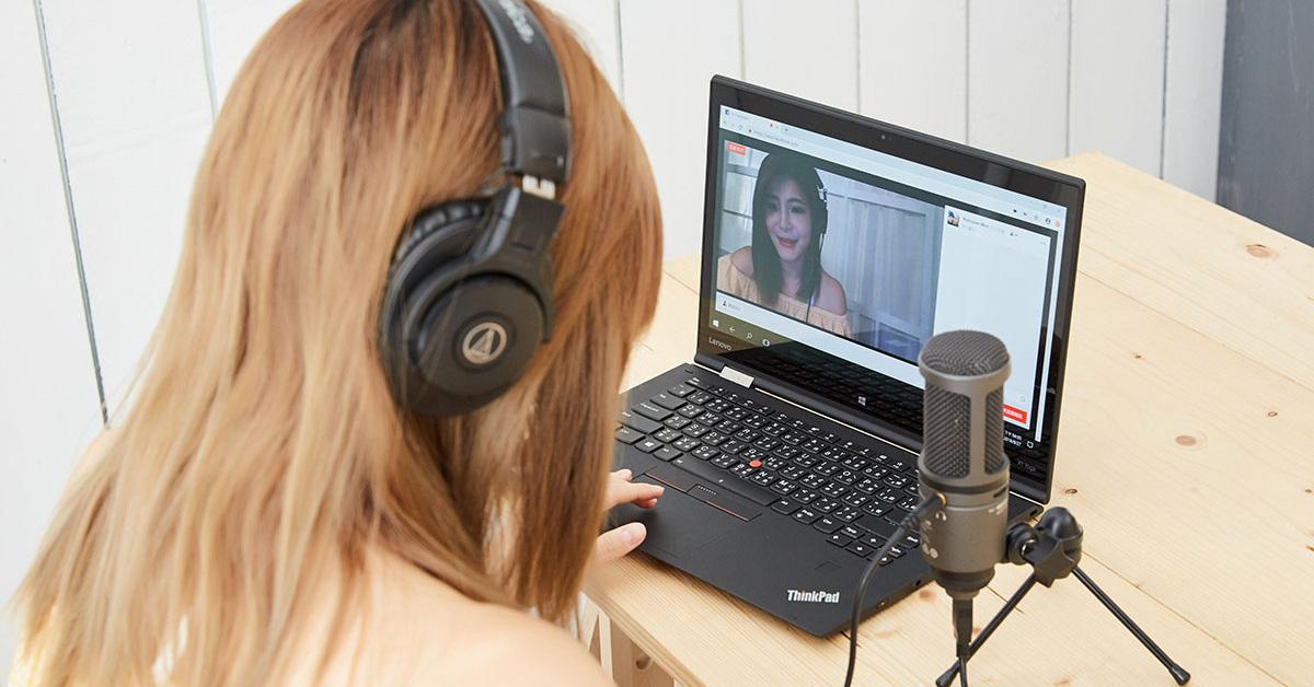 坐在電腦前就想成為人氣直播主,有這麼簡單?麥克風、耳機你買對了嗎?