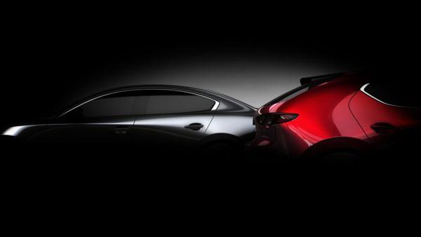 四門、五門連袂現身? Mazda 釋出預告剪影,新世代 Mazda3 洛杉磯車展即將發表!