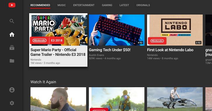 可以在 Switch 上觀看 YouTube 了!不過 Netflix 至今仍不見蹤影