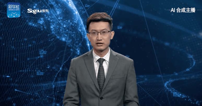 主播不是人!中國首位「AI合成主播」上線,24小時365天全年無休