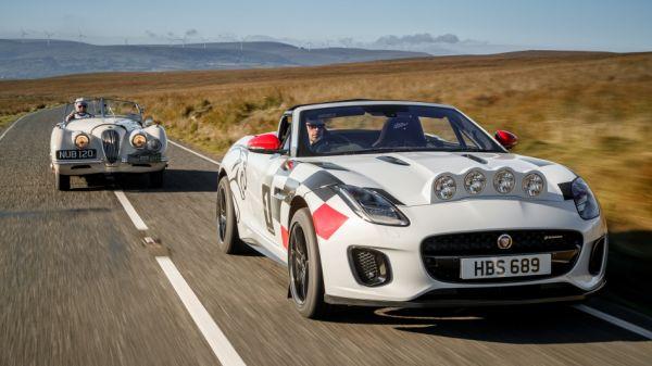 進軍拉力賽事70周年!Jaguar打造F-Type Rally向XK 120經典賽車致敬!