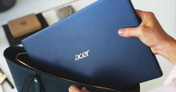 宏碁推出全球最輕15吋筆電Acer Swift 5,重量不到1公斤