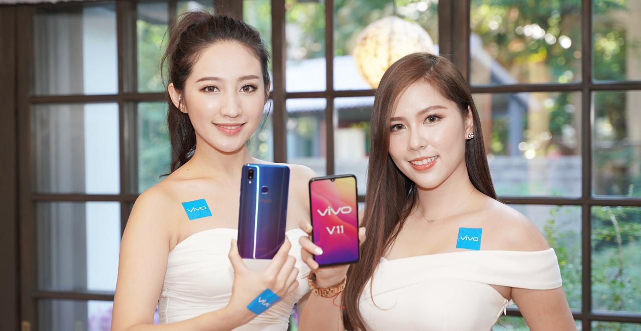 2,500萬畫素自拍鏡頭、7種AI智慧拍照功能,Vivo V11/V11i 在台上市