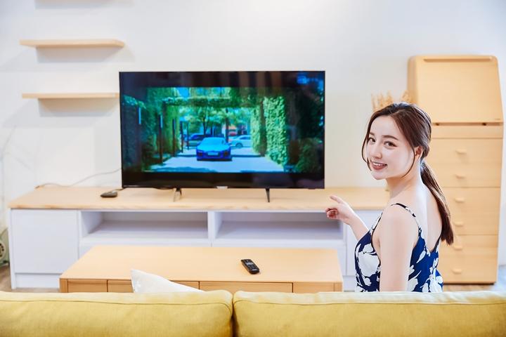 Philips 55PUH6233 4K HDR 大型顯示器:智慧升級,流光溢彩營造美麗氛圍