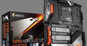 技嘉發表X299 AORUS MASTER主機板