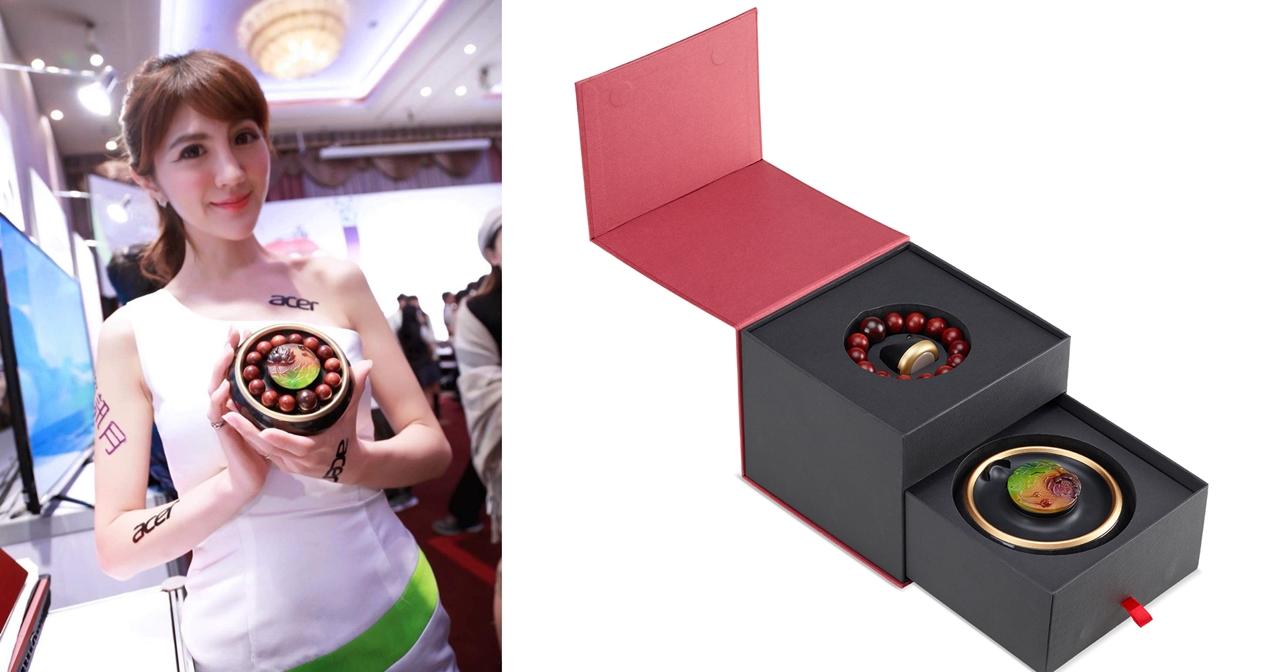 新的 Acer 佛珠智慧手環來了,Acer Leap Beads 金星紫檀全配套組上市價 8,888 元