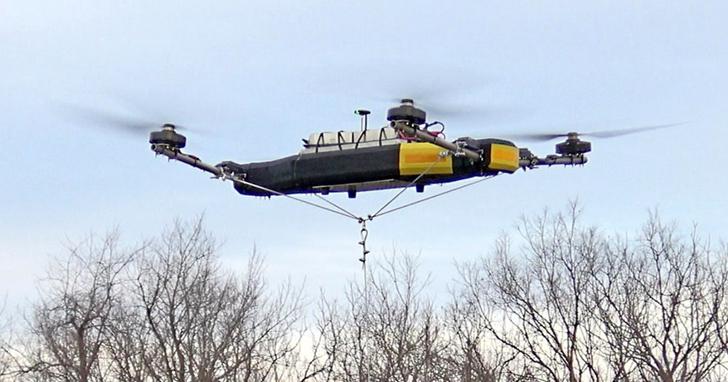 Mobile Recon 發佈八軸版 Dauntless 無人機,載重量超 90 公斤,售價六位數美金