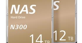 TOSHIBA N300 NAS硬碟 推出全新12TB與14TB氦氣填充封裝機型