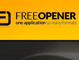 80種格式通吃的開檔利器:Free Opener