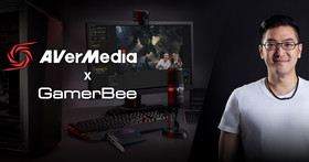 國際知名格鬥遊戲選手GamerBee向玉麟重回職業生涯起點 擔任圓剛AVerMedia全球品牌大使