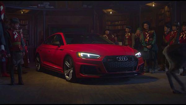 成就「改變人生」的動力,Audi RS5 Sportback 釋出聖誕節專屬影片!