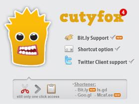 在 Firefox 一鍵快速縮網址:Cutyfox URL Shortener