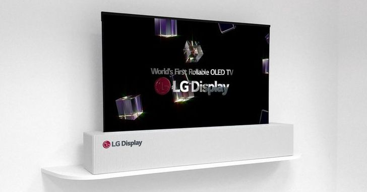 LG「可升降式」的 65 英吋智慧電視,或在 2019 年發售