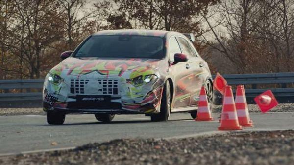 【影片】Mercedes-AMG A45 4MATIC確定將有甩尾模式,官方影片從頭到尾「橫著走」!