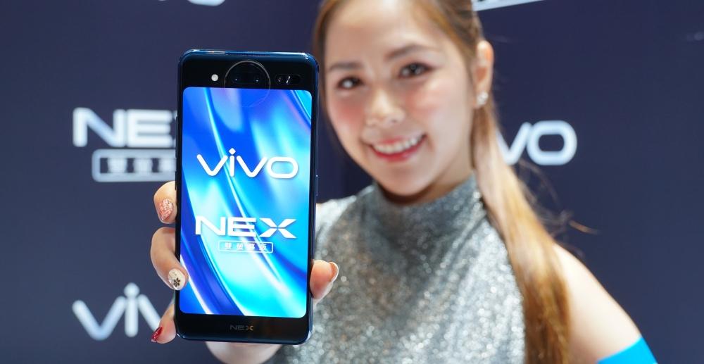 真雙螢幕手機 VIVO NEX 登台,10GB RAM、三主鏡頭、售價 24,990 元