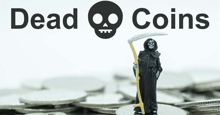 目前認定已經「死亡」的加密貨幣高達934個,數位貨幣「墓碑」正在不斷增加......