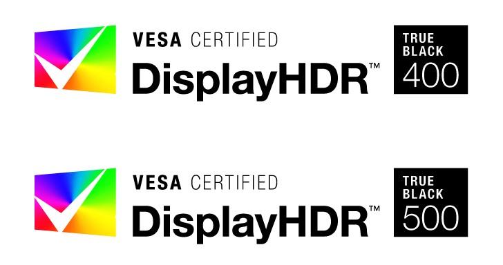 VESA 為自發光面板推出 DisplayHDR True Black 認證標準,新增 400nits 與 500nits 級距