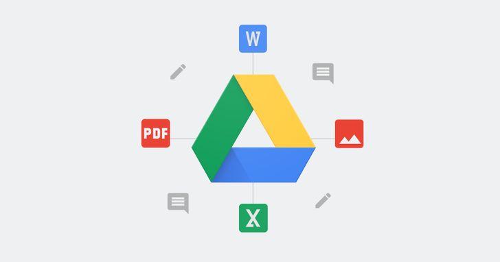 Google Drive網頁版實用技總複習:「內建」註解 PDF、Office文件功能