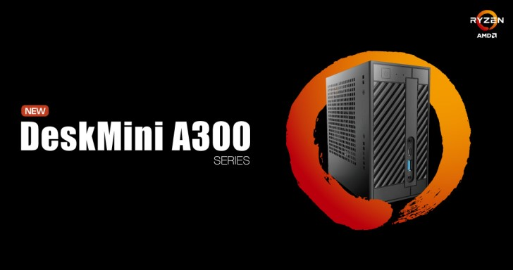 Ryzen降臨,ASRock DeskMini A300超迷你準系統尺寸再壓縮