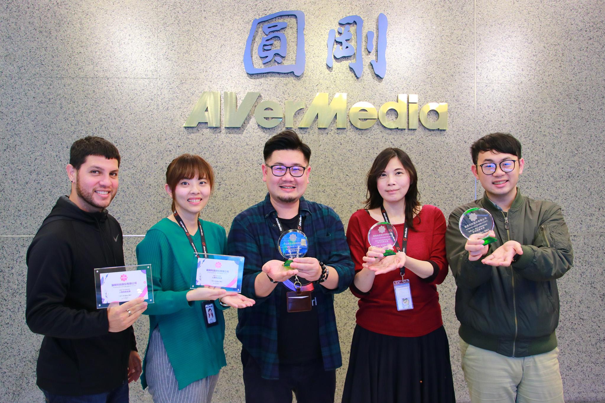 圓剛4K實況擷取卡及YouTuber專用外接式麥克風於科技趨勢金獎榮獲五項大獎