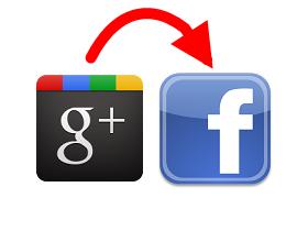 將 Google+ 發文同步到 Facebook