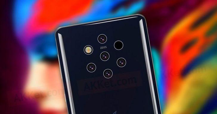5 鏡頭的Nokia 9 PureView 要來了,它可能是 HMD 推出以來最貴的手機