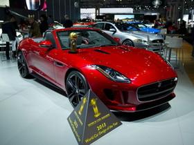 Jaguar F-Type獲「2013 World Car Design of The Year」世界風雲車設計大獎