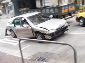 《GTA 俠盜獵車手》玩太多?香港街頭真實上演!