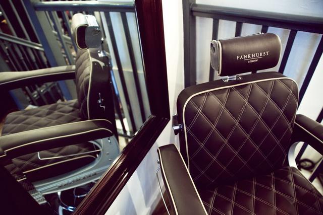 藝術!Bentley為倫敦男士美容沙龍「Pankhurst」設計手工皮椅