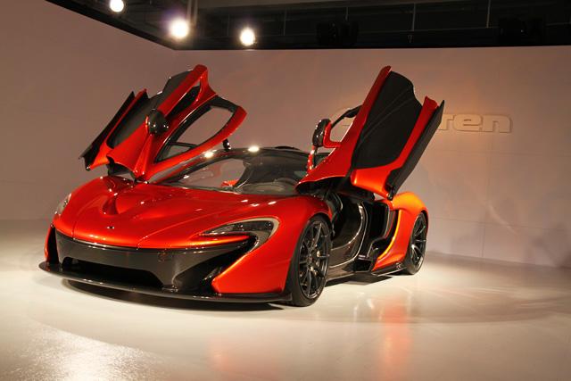 McLaren P1旗艦超跑展示車抵台亮相!