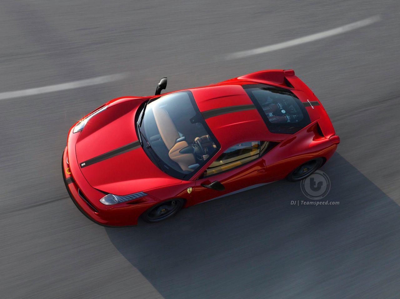 600匹馬力全新 Ferrari 458 Scuderia將於9月發表?!