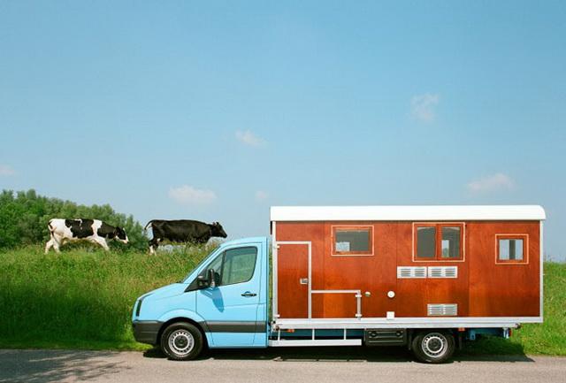 專業車床族必備聖品!Tonke Campers改造貨車變身的 RV露營車