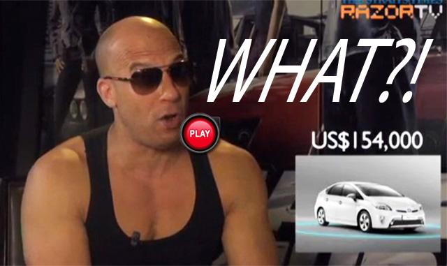 連玩命關頭6的唐老大(馮迪索)都嚇到,Toyota轎車要賣到446萬?!