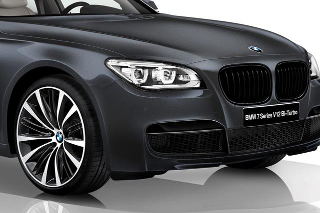 BMW 7-Series V12 Bi-Turbo日本限定轎跑車,載老闆也要500多匹馬力才夠看!