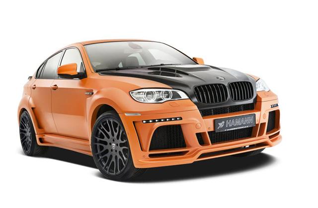 有了 Hamann Tycoon II M改裝套件加持,連高鐵都追不上你的 BMW X6 M!