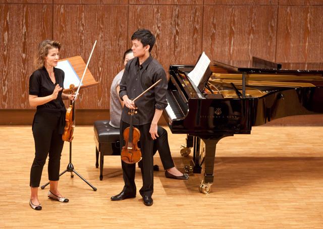 台灣賓士獨家贊助小提琴女神安‧蘇菲‧慕特來台 率夢幻團隊獻奏「慕特大師班」親臨指導樂壇新星