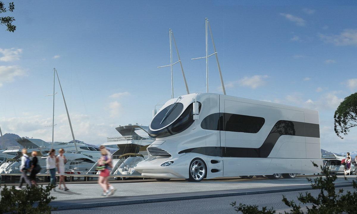 eleMMent PALAZZO露營車根本就是道路版遊艇嘛!價格與外型都能嚇你一跳!